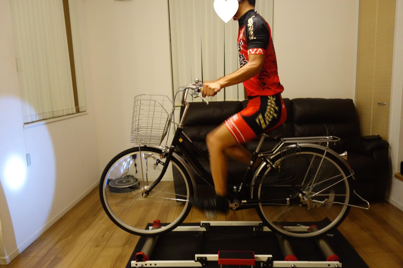 ロードバイクローラートレーニング