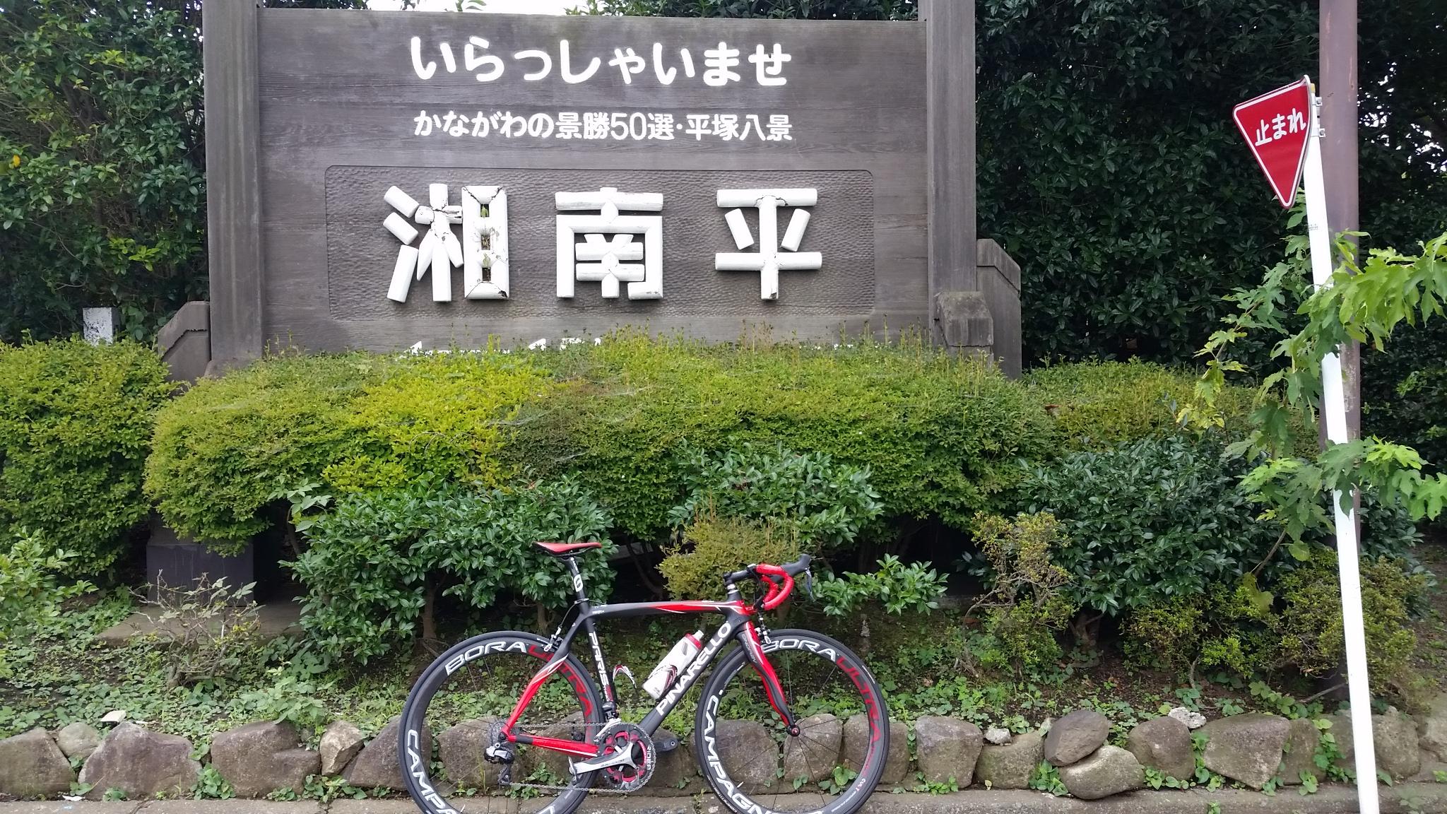 ロードバイクで湘南平を登ろう!