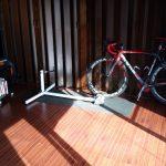 ロードバイクローラー、業務用扇風機
