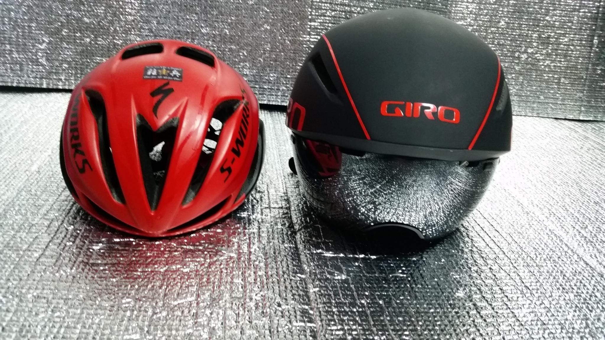 タイムトライアルヘルメット GIRO(ジロ)「エアロヘッド」購入じゃい!