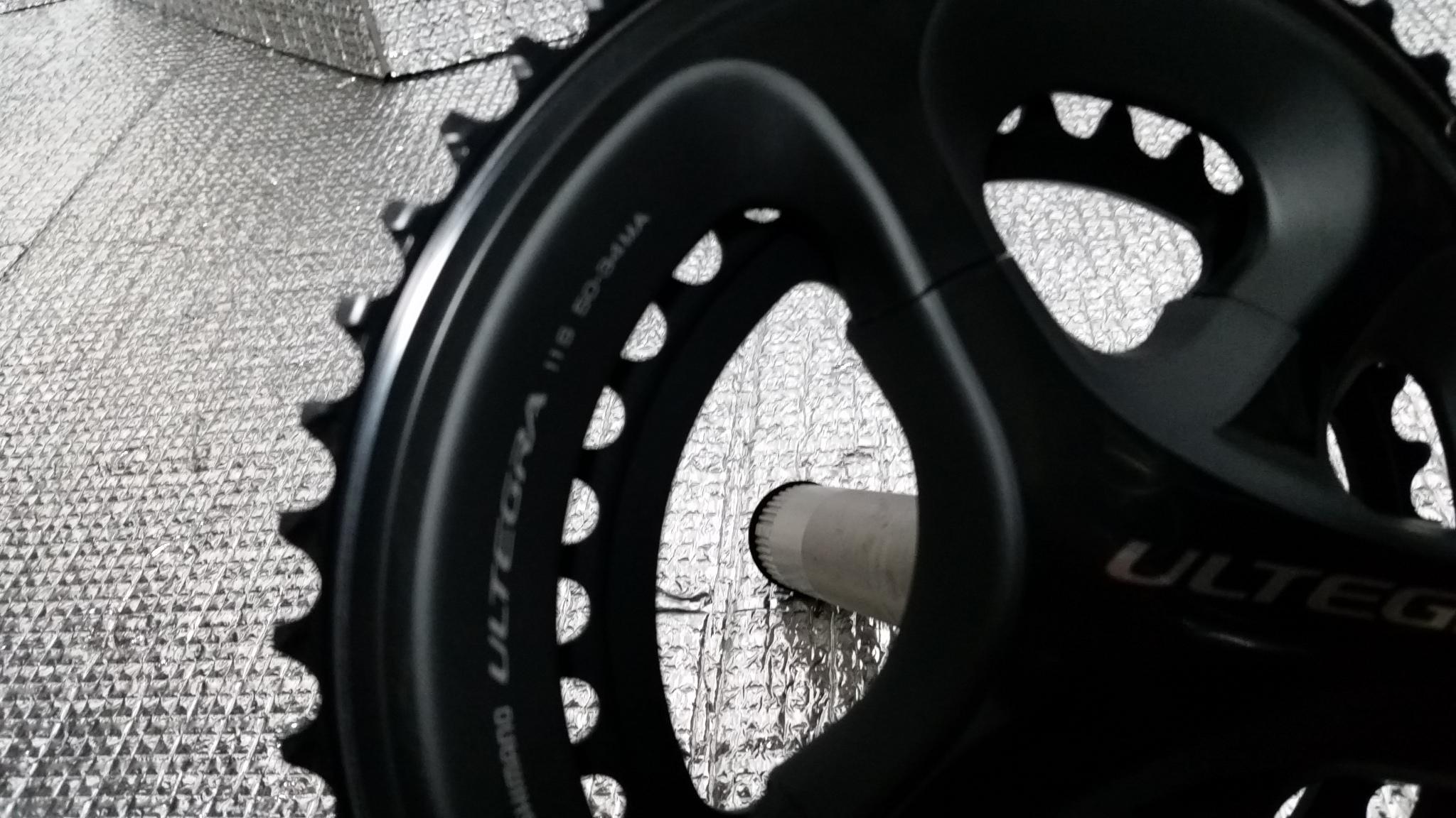 ヤフオクに自転車機材アルテグラ6800系ブレーキ、クランクを1円スタートしました!!