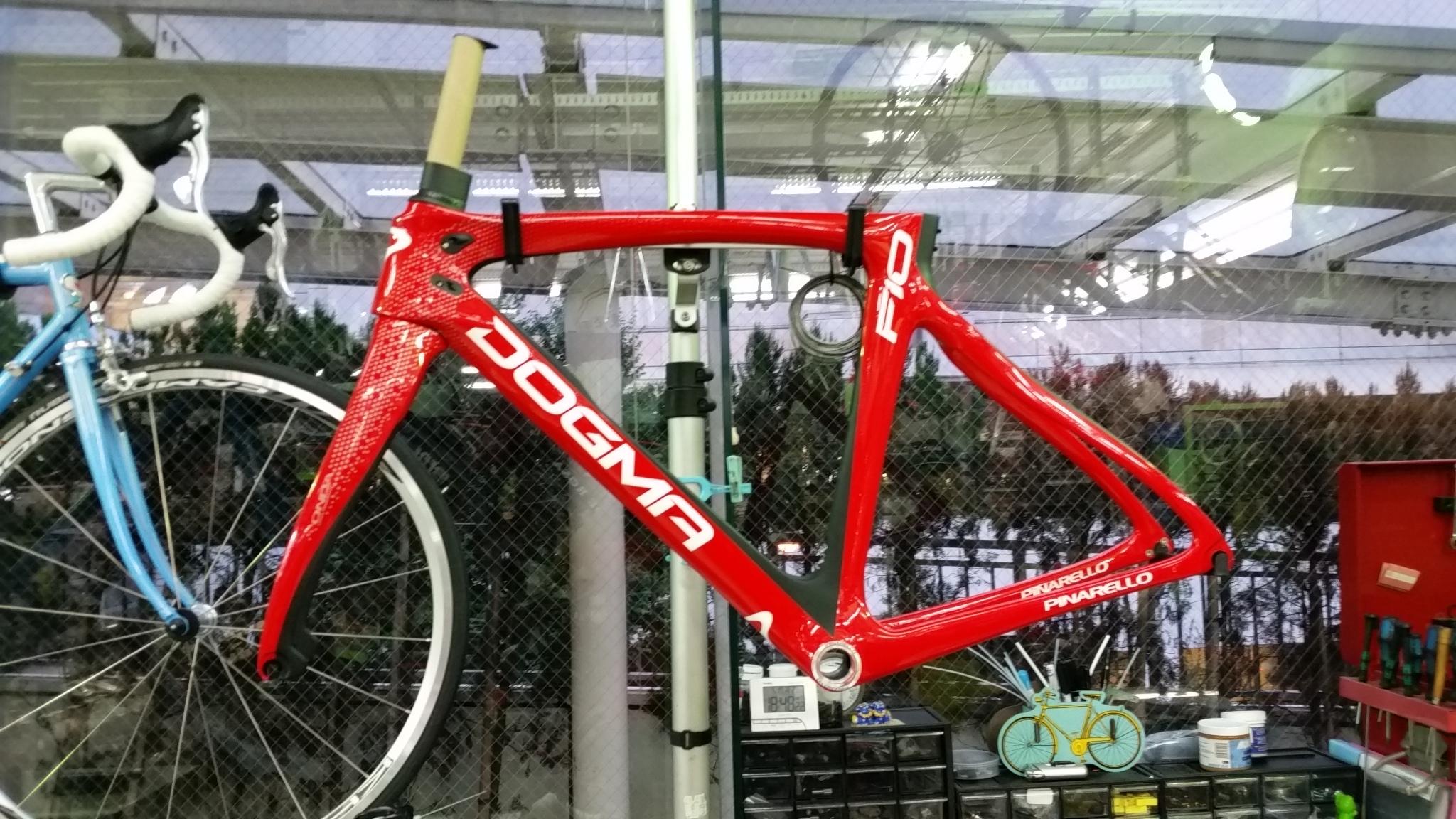 凄ぇロードバイク、フラッグシップモデルを買おう!!もうセカンドグレードとは言わさんぞ!!DOGMA F10購入記その5!キタッ!!